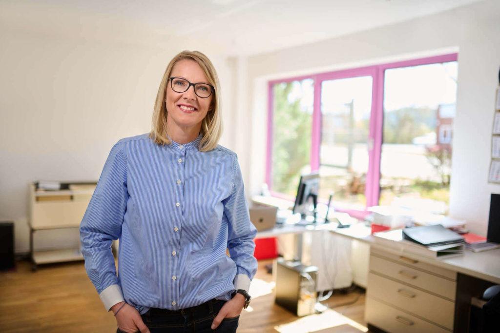Geschäftsführerin Janin Poppe